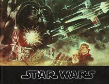 STAR WARS MOVIE PROGRAM! 1977 VINTAGE ORIGINAL LINEN FINISH COVER! NM OR BETTER!