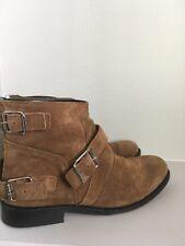 Balmain X H&M Suede Chelsea Men's Boots Size 9 Camel / Tan /
