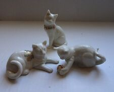 Lenox China Jewels Collection Set of 3 Cats