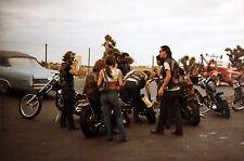 Hells Angels Motorcycle Gang California Road Trip 8.5x11 Photo