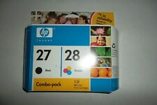 HP 27 28 Tri-Color/Black Ink Cartridge Combo-Pack 3420 1240 1315 C9323BN OEM NEW