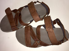 Men's Hush Puppies Size 11m Brown Leather Sandal