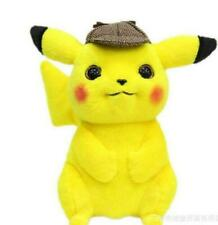"""2019 Official Pokemon Detective Pikachu Plush Doll Stuffed Toy Movie Gift 11"""""""