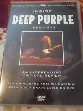DEEP PURPLE Inside Deep Purple 1969-1973 DVD Critical review POST FREE