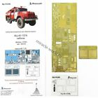 Microdesign 035386 PE cabin AC-40 137A on base ZiL-131 ICM 35519, 35902 1/35