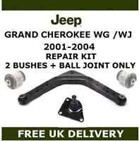 FOR JEEP GRAND CHEROKEE WG WJ REAR A FRAME A-FRAME BALL JOINT UPPER ARM BUSH KIT