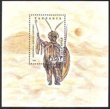 Tanzania 1993 trajes tradicionales/Ropa/Textil/Diseño 1 V M/S (n39891)