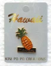 HAWAIIAN COLLECTABLE HAWAII PINEAPPLE PIN