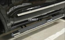 4'Oval Stainless Steel Side Step For Jeep Grand Cherokee 2014-2018
