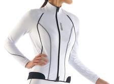 Camiseta m/l Mujer da ciclismo mujer Lady Col. Blanco