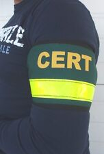 CERT Arm Band, Custom Reflective, Safety, Arm Band