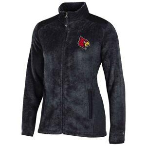 Louisville Cardinals NCAA Full Zip Women's Team Logo Flurry Jacket by Champion