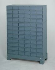 """72 Drawer Durham 019-95 Industrial Storage Cabinet, 48 1/8"""" Height NEW !!"""