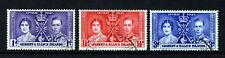 GILBERT & ELLICE ISLANDS KG VI 1937 Complete Coronation Set SG 40 to SG 42 VFU