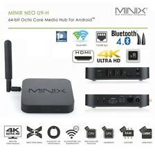 2018 MINIX Neo U9-H Android 6 Smart TV Box Player 64-bit Octa-Core CPU Kodi 17.1