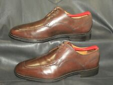 Cole Haan men's brown leather lace up moc toe oxford shoes size 8 1/2 M