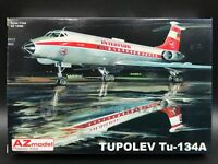 AZmodel 1/144 Tu-134A - Interflug & Czechoslovakia Airline (AZ14406)