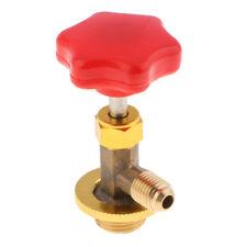 R134A Distributeur Valve AC gaz ouvre-bouteille Valve 1/2 SAE Adaptateur