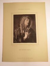 Guido Reni - Eine betende Maria - Kunstbild / Foto