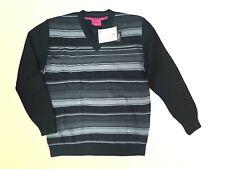 Elegant Men's Jumper Sweater Pullover Merino Fine Knit v. Boren Size M