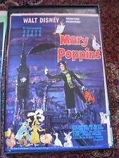 """Orig. Filmplakat :Walt Disney - """"Mary Poppins"""" , Julie Andrews,Dick van Dyke"""
