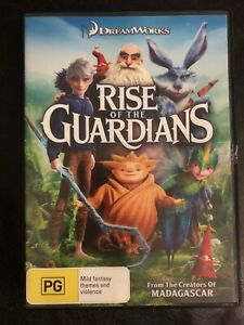 Rise Of The Guardians DVD Region 4