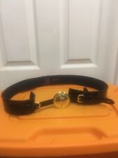 Amy Winehouse Fred Perry Belt L Gold Logo