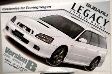 2002 Subaru Legacy Touring Wagon Version B JDM 1:24 Fujimi 035536