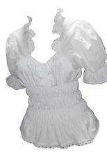 Kurzarm-Blusen taillenlange Damenblusen, - tops & -shirts im für die Freizeit