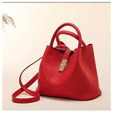 Women Leather Tote Shoulder Crossbody Lady Handbag Satchel Messenger Bag