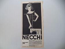 advertising Pubblicità 1962 MACCHINA PER CUCIRE NECCHI SUPERNOVA JULIA