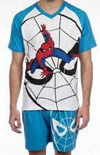 pyjama court marvel comics SPIDERMAN blanc/bleu taille XL - neuf