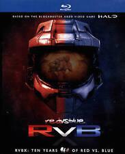 RVBX TEN YEARS OF RED VS BLUE Blu-ray Season 1-10 Set Halo Complete Series Show
