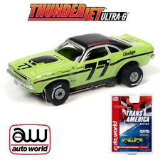 Auto World Thunderjet R30 Sam Posey 1970 Dodge Challenger T/A Ho Scale Slot Car