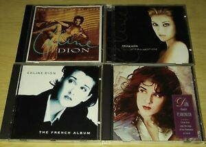 4 x CD Albums From Celine Dion. All Listed. All Cases & Artwork Included.