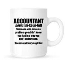 Accountant - Funny Job Definition/Description - Funny Tea / Coffee Mug / Cup
