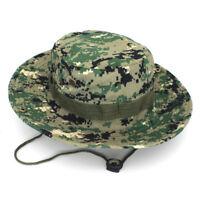 Men Boonie Bucket Hat Bush Caps Fishing Military Hunting Safari Outdoor Hiking