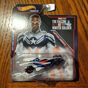 Falcon as Captain America - Marvel Character Cars - Hot Wheels (2021)