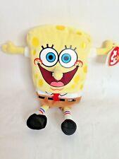 "Ty Beanie Baby Spongebob Squarepants 7"" Stuffed Plush Animal Toy"