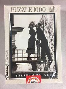 Bertram Bahner Jigsaw Puzzle Educa Black & White Series 1000 Piece 1996 Sealed