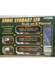 Corgi 60008, Die Cast Eddie Stobart Ltd, Articulated Truck Set And Play Mat.