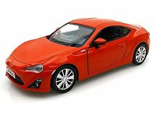 "RMZ Scion 2013 Toyota FR-S FRS brz 1:36 scale 5"" diecast model car orange"