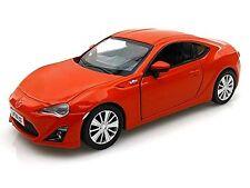 "RMZ Scion 2013 Toyota FR-S FRS brz 1:36 scale 5"" diecast model car orange"