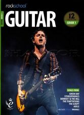 Rockschool Guitar Grade 1 2018-2024 TAB Music Book/Audio Songs Exercises Tests
