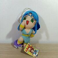 "Puyo Puyo Rulue Nasu Grave Plush Doll Toy UFO Compile Sega 1995 Japan TAG 8.5"""