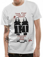 The Shining Come Play Twins T Shirt OFFICIAL Horror Movie Ghosts NEW M XL XXL