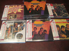 MANFRED MANN MIGHTY GRAVEY 5 OBI REPLICA CD'S RARE BOX SET ONE TIME 2017 SPECIAL