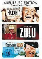 Hatari! - Zulu - Donovan's Reef - Abenteuer-Edition (2012) 3DVD John Wayne