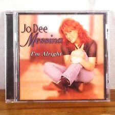 Jo Dee Messina I'm Alright CD Curb 1998