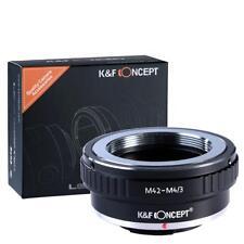 K&F Adapter, M42 Objektiv auf Panasonic Olympus Kamera mit micro 4/3 Bajonett